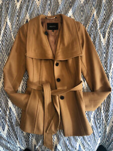 Babaton Connor Wool Coat - Colour: Soft Camel