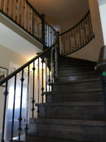 Laminate Floor, Stairs Renovate, All GTA Installation
