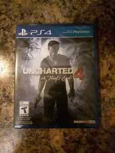 Uncharted 4. Brand New In Package. $50 PS4