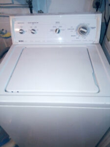 Kenmore Washer and Natural Gas Dryer