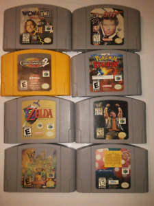Selling N64 Games and Console