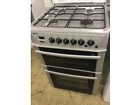 Beko Silver gas cooker 60cm wide