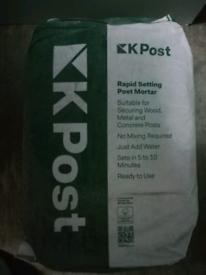 K post postcrete surplus for sale