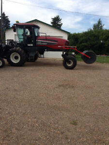 Macdon M 150 Swather with combine Adapter