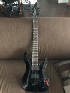 Jackson 7 String Guitar with EMG's