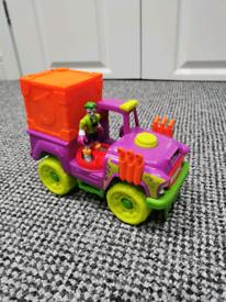 Imaginext Joker vehicle