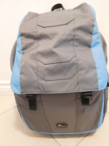 Lowepro Versapack 200aw camera backpack grey and blue