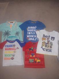 5 x Boys Tshirts (2-3yrs)