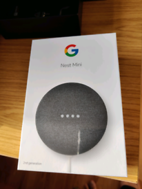 Google Nest Mini Charcoal (2nd generation) BRAND NEW SEALED