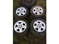 Peugeot 806 alloy wheels