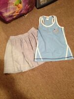 GIRLS SIZE 14 SKIRT AND TANK