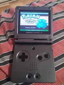 GAMEBOY ADVANCE SP GRAPHITE AGS-101 BACKLIT + EXTRAS
