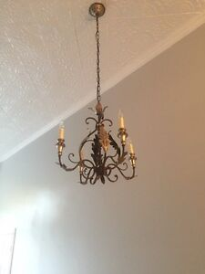 Elegant four-light Chandelier  Peterborough Peterborough Area image 3