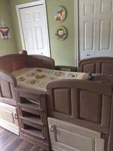 Little Tikes Log-Style Single Bed