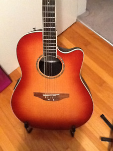 Ovation Celebrity CC 28 Acoustic Electric Shallow Body Guitar