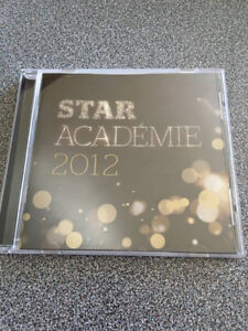 CD de Star Académie 2012 à vendre