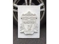 Liverpool FC concrete plaque wall house grave etc
