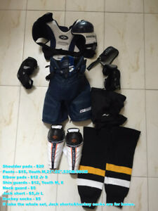 Hockey equipments for kids 8-11