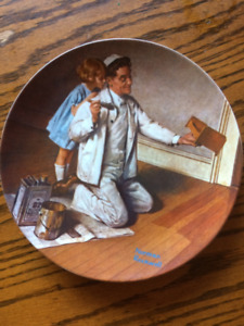 "Norman Rockwell ""The Heritage"" Collector Plates"