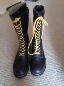 Dr Marten long boots size 8