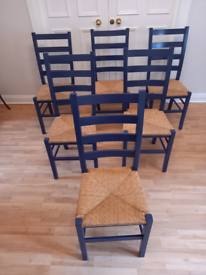 Six dining / kitchen chairs