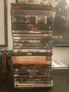 Giant stack of 22 DVD movies and box sets