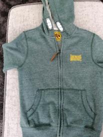 Boys zip up hoodie aged 7