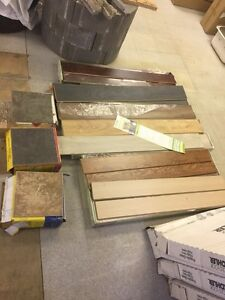 Tile and laminate flooring blowout sale
