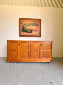 Danish Mid Century Teak Sideboard by D Scan