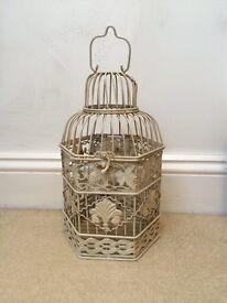 Antique Cream Birdcage