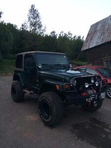 1999 Jeep TJ Sahara 2 door