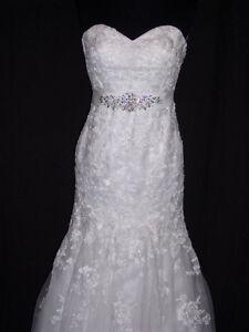 Wedding Dress - Maggie Sottero 'Ascher' in white. Size 2