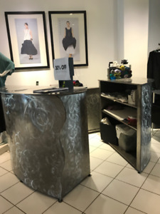 two store counter pieces or bar/cabinet