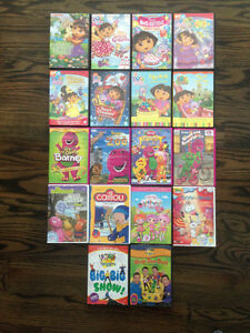 Various Kid's DVD's