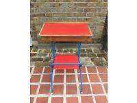 Vintage child foldable desk