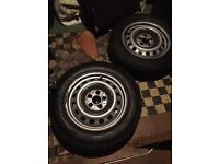 Mercedes Benz Vito (4X) Continental Tyres with Wheels