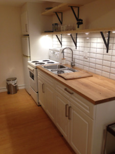 East Hill_ Furnished 1 Bedroom Basement Suite for single person