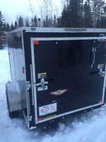 Top of the Line 8' Enclosed Trailer