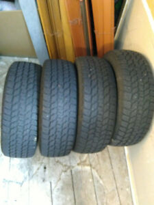 4 X 195 65 R15 Winter tires