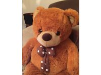 Giant Teddy Bear Brown soft plush
