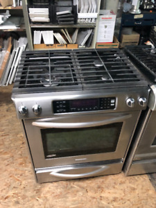 Kitchen Aid Slide In Gas Stove