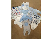0-3months baby boy bundle