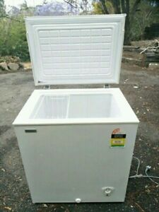 Hisense freezer 145Litres. Runs really well. Nice and clean.
