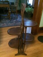 Two wooden plant stands - reduced to $60 each OBO