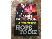 Hope to die - James Patterson Hardback Book
