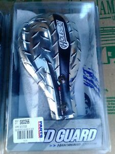 SPEED GUARD DIRT BIKE MX HANDGUARDS PC SERIES DIA CHROME WITH BR