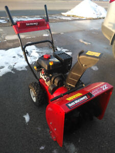 Yard Machines MTD 22 inches snowblower 2 stages
