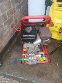 Clarke tiger 1700 petrol pressure jet wash
