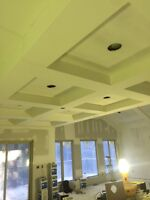 Offering Drywall Taping.