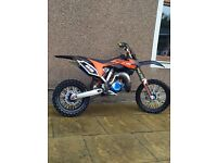 Ktm 85 2013 ( race tuned weapon )swap for 125 rm/cr